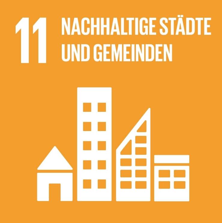 Städte und Siedlungen inklusiv, sicher, widerstandsfähig und nachhaltig gestalten.